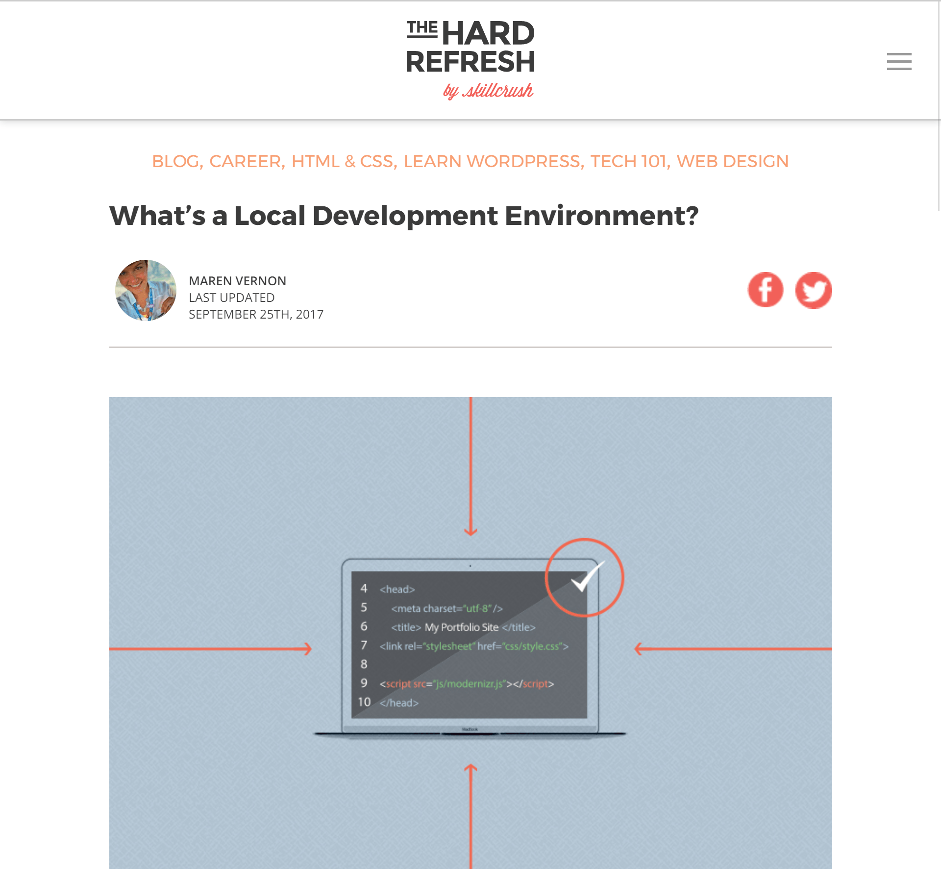 What's a Local Development Environment?
