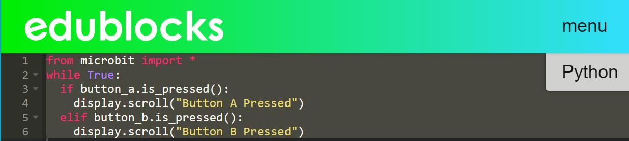 EduBlocks Python