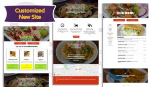 La Chabelita site various pages